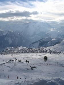 L'Alpe d'huez, en Isère