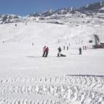 Alpe d'Huez : le bas des pistes