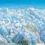 Alpe d'Huez : plan des pistes