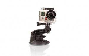 camera embarquée GoPro hero hd 2 sur ventouse