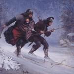 Guerriers Norvégiens à ski