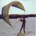 Les premiers prototypes de kitesurf legaignoux