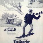 Le snurfer Brunswick : publicité d'époque
