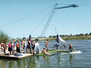 wakeboard en cable